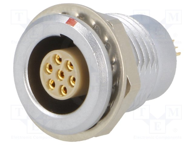 Compatible Lemo push-pull self-locking connector EEG Female socket