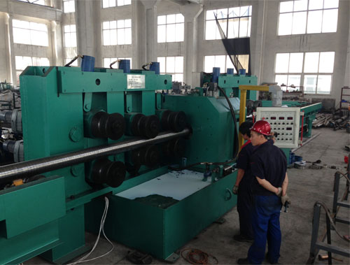 Cnc centerless turning lathe for metal steel round bars