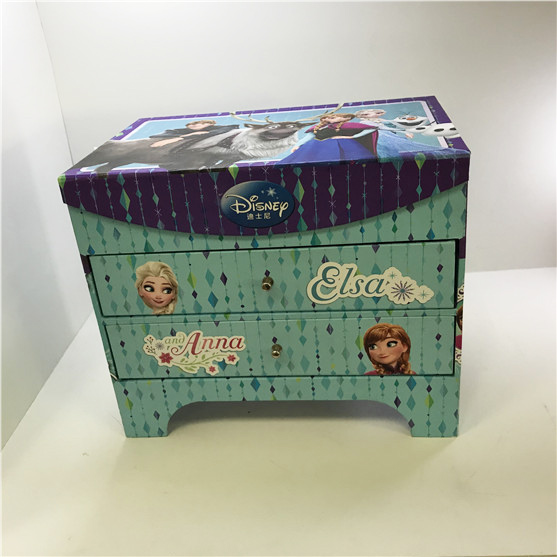 Printing Paper Handcraft Box For Kids Toy