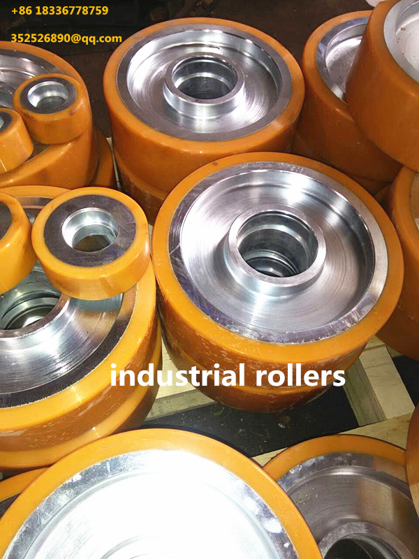 Custom sizes and lengths industrial Polyurethane rollers