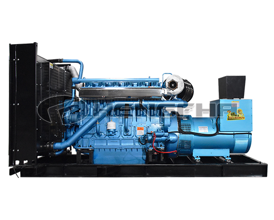 Weichai 625KVA Diesel Generator Unit hospital emergency China manufacturer