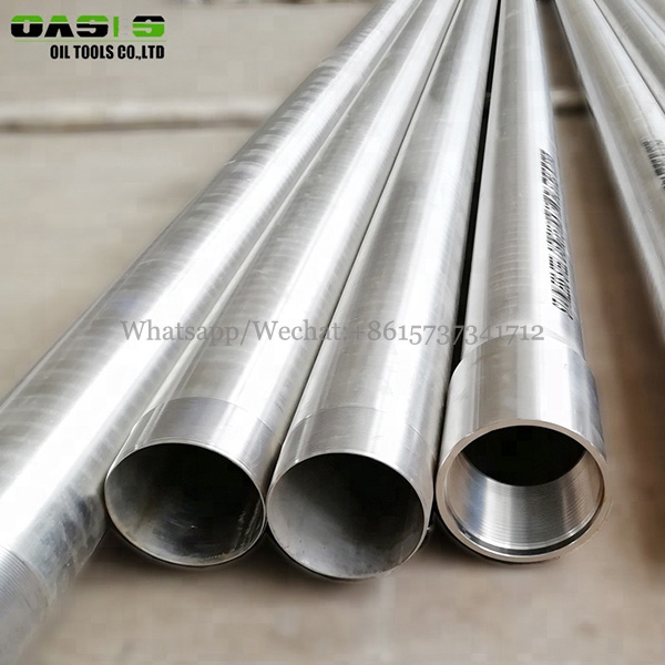 Stainless steel well screen casing pipe API seamless 5ct oil well pipline