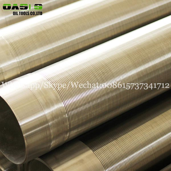 Wedge Wire cylinder mesh Screen/Chinese continuous slot screen(manufacturer)