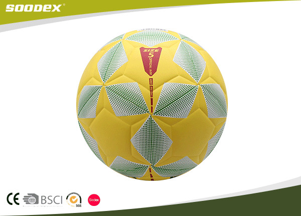 Deflatable Official Size 5 Soft PU Soccer Ball