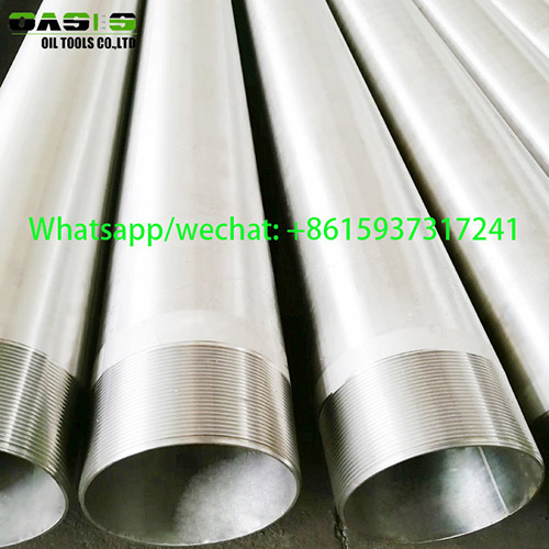Welded Stainless Steel Water Well Casing Pipe