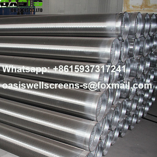 Continuous slot 304L stainless steel water well screens