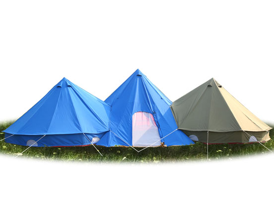 Canvas Bell tent Group