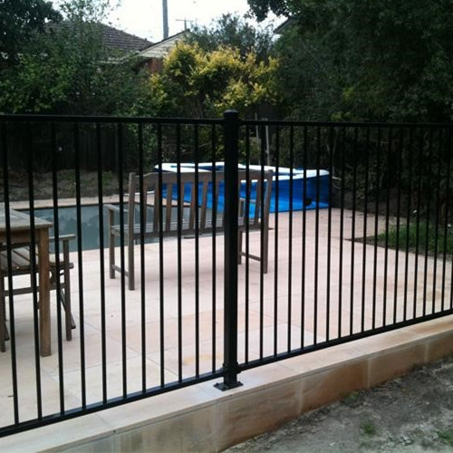 Galvanization steel pool safty fence rails