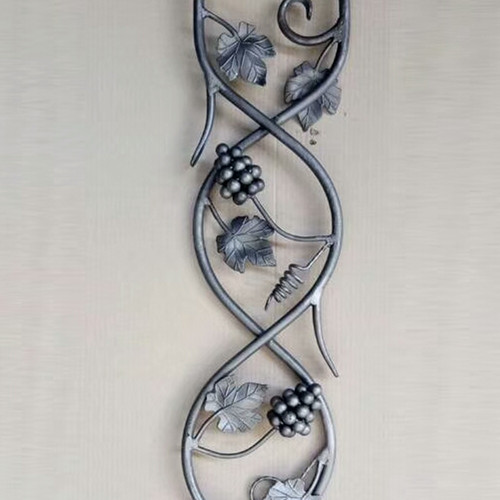Wrought iron ornaments Simulated Cast Steel for balusters and gates