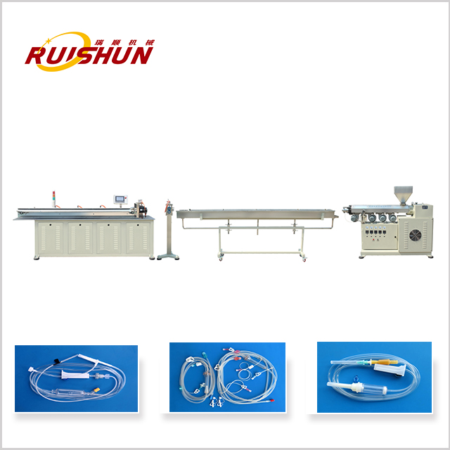 Medical catheter making machine