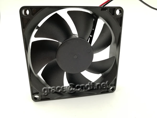 CNDF passed CE suit europe standard EMC LVD 80x80x20mm cooling fan 12VDc 24VDc