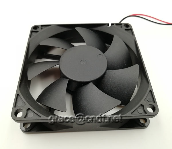 CNDF main use for computer or cooking machine cooling dc fan 80x80x20mm 24VDC 0.14A  3.36W 3500rpm