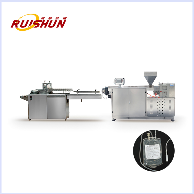 Infusion bag film extrusion line