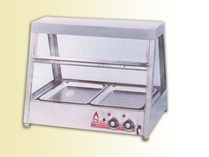 Single Layer Two Compartment Insulation Cabinet