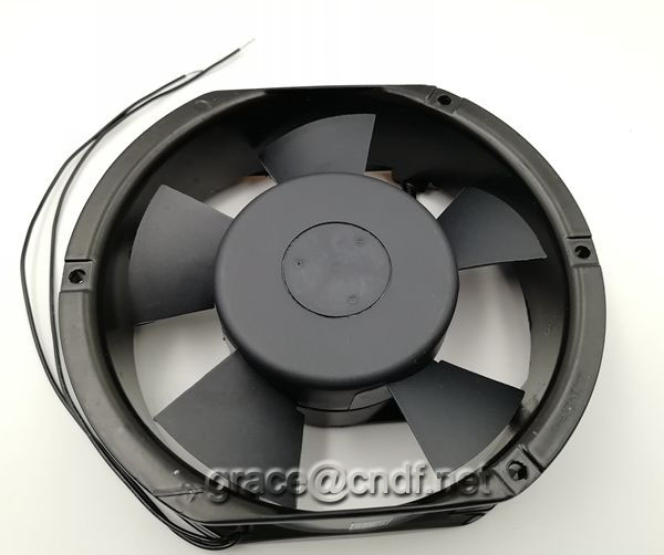 CNDF air ventilator ac raiator exhaust cooling fan size 170x150x52mm 220/240VAC 2 ball bearing cooling fan TA15052HSL-2