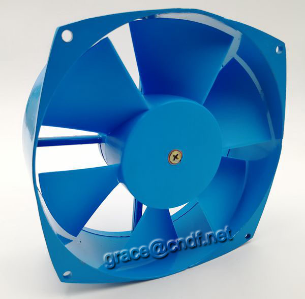 CNDF industrial exhaust ac cooling axial fan 200FZY2-D 200x210x71mm 220/240VAc 0.3A 2600rpm 65W
