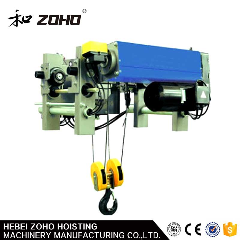 Electric Chain Hoist LOW HEADROOM STEEL WIRE ROPE HOIST