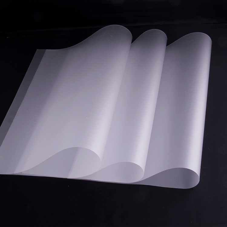 0.125mm Transparent wear resistance UV protection coating polycarbonate film