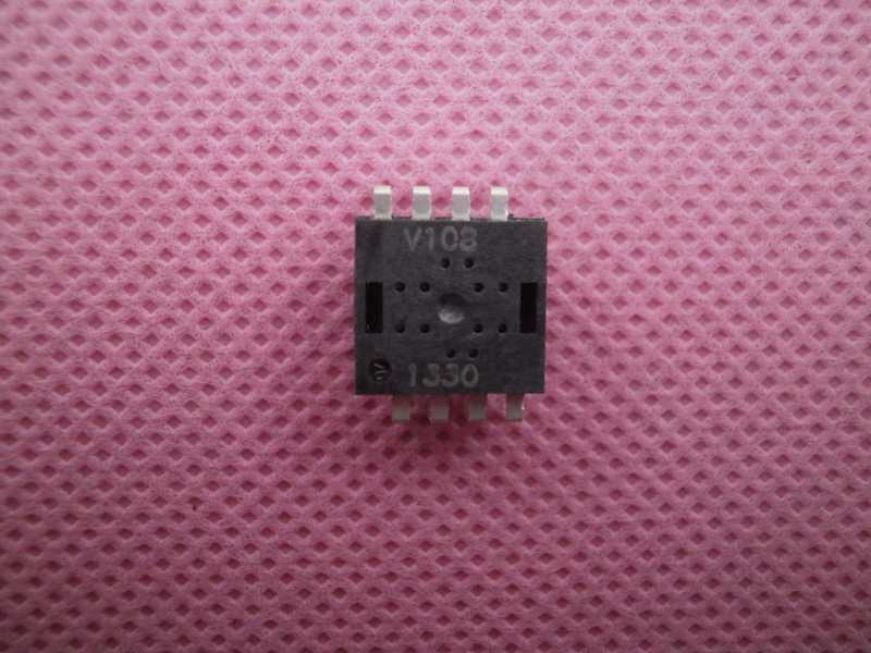 Wireless Mouse IC V108 DIP8L 3-6 Buttons CPI 400/500/600/800/1000(Default)/1200/1600
