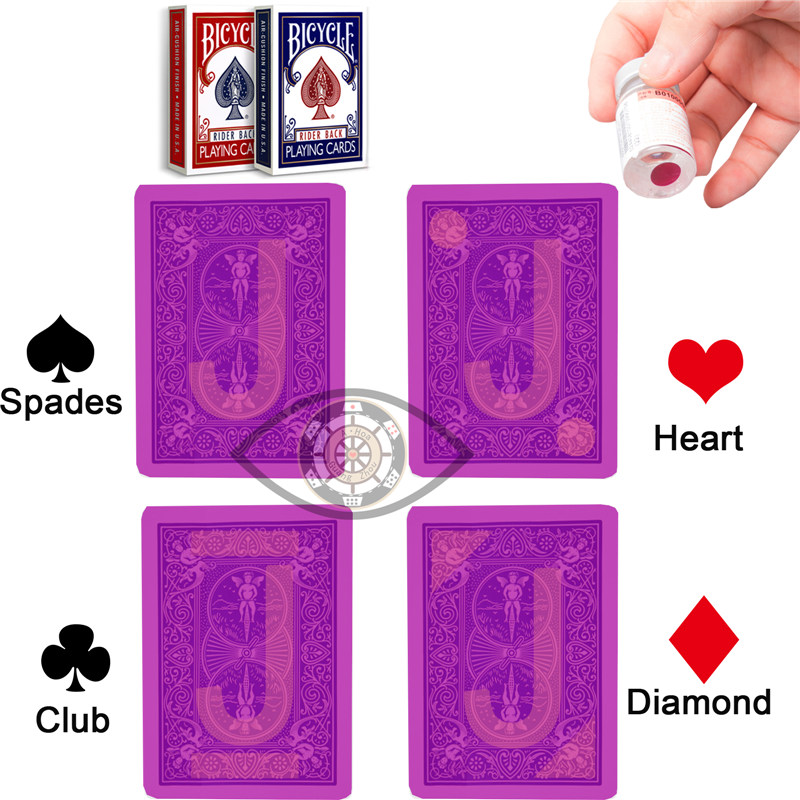 Cheat At Poker Marked Card For Magic Show