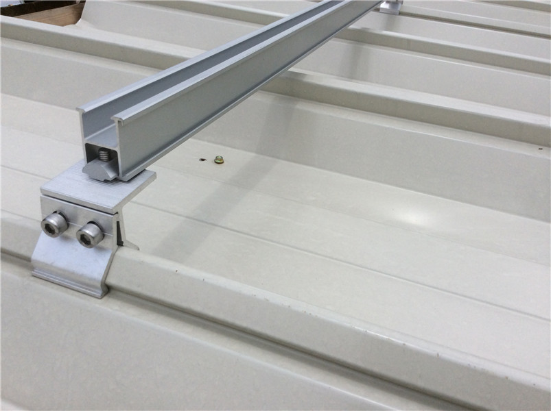 Pitched roof mounting system/standing seam metal roof solution