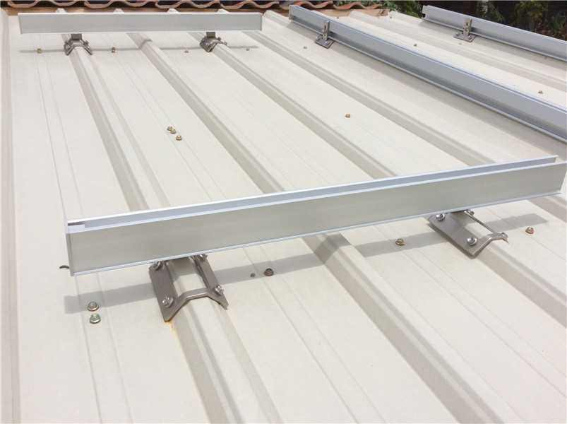 Pitched roof mounting system/Trapezoid metal roof solution