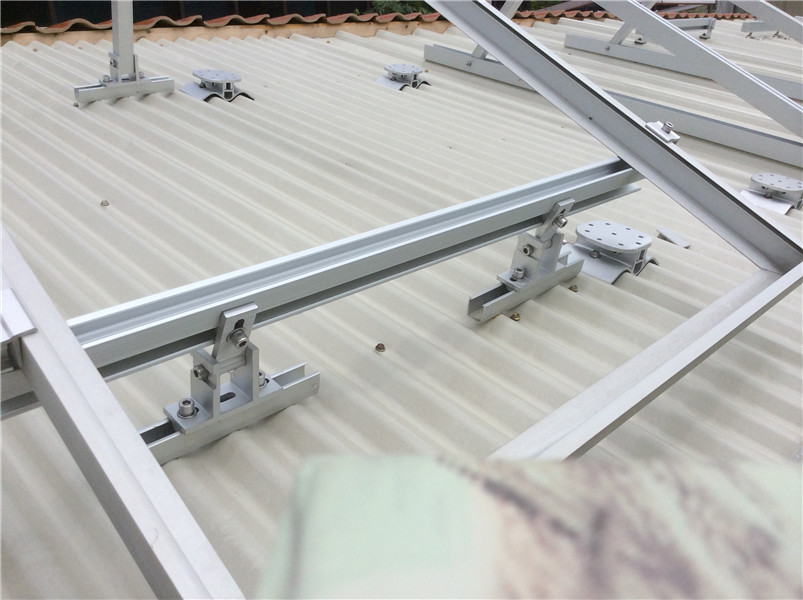 Roof solar mounting system/Aluminium adjustgable roof solar mounting structure