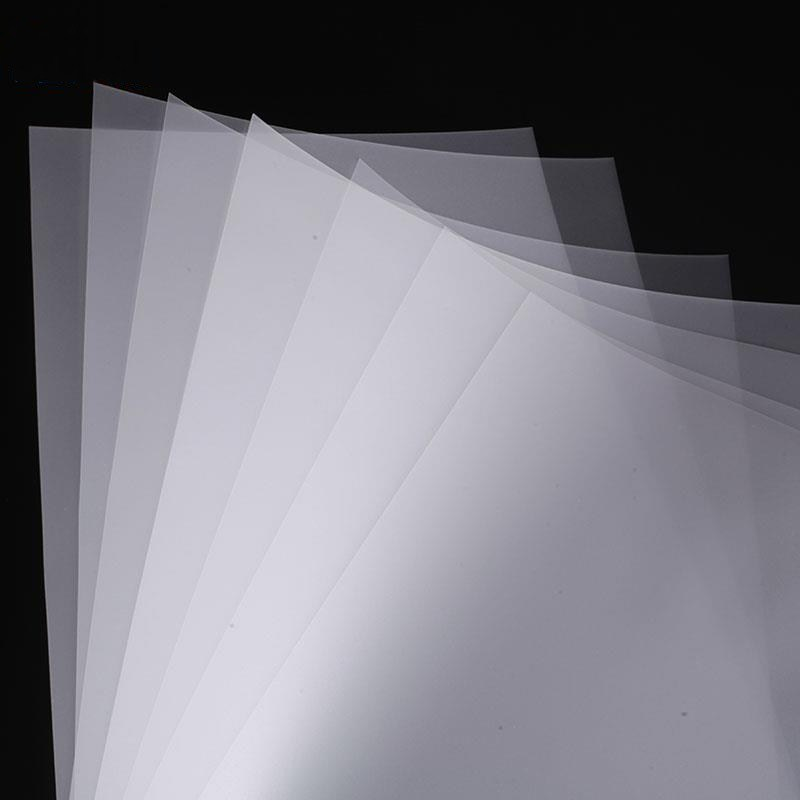 0.125mm velvet/matte anti-fog coating polycarbonate film for screen