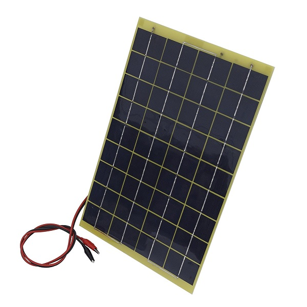 10 Watts 12 Volts Epoxy Solar Panel Module for Car RV Battery Charging