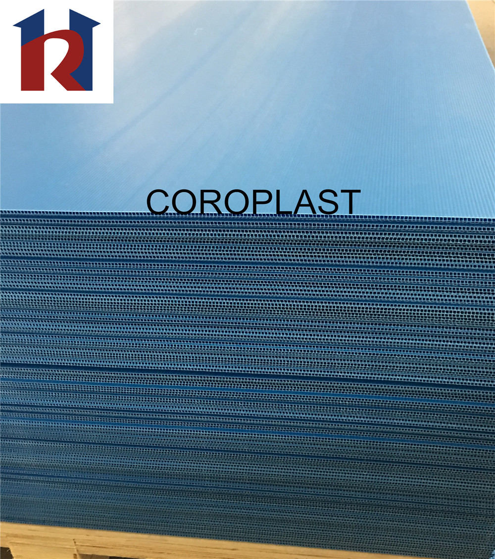 High quality waterproofing environmentally cutting die pp corflute correx coroplast sheet