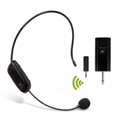 U9 UHF Wireless Teacher Headset Microphone and Receiver Set for Amplifier or Speakers