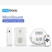 Waytronicspecializes in  motion activated sound playerand v