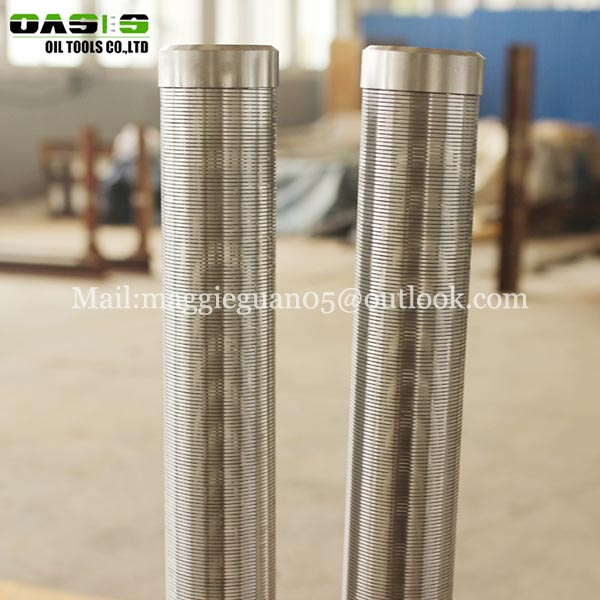 Stainless SS Filter Steel Wedge Johnson Wire Screen Deep Well Water Pipes