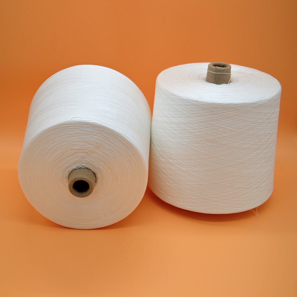 100% spun polyester yarn for cloth sewing 20s/2