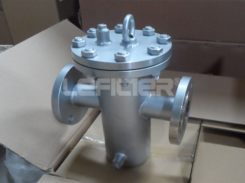 Stainless steel basket filter strainer