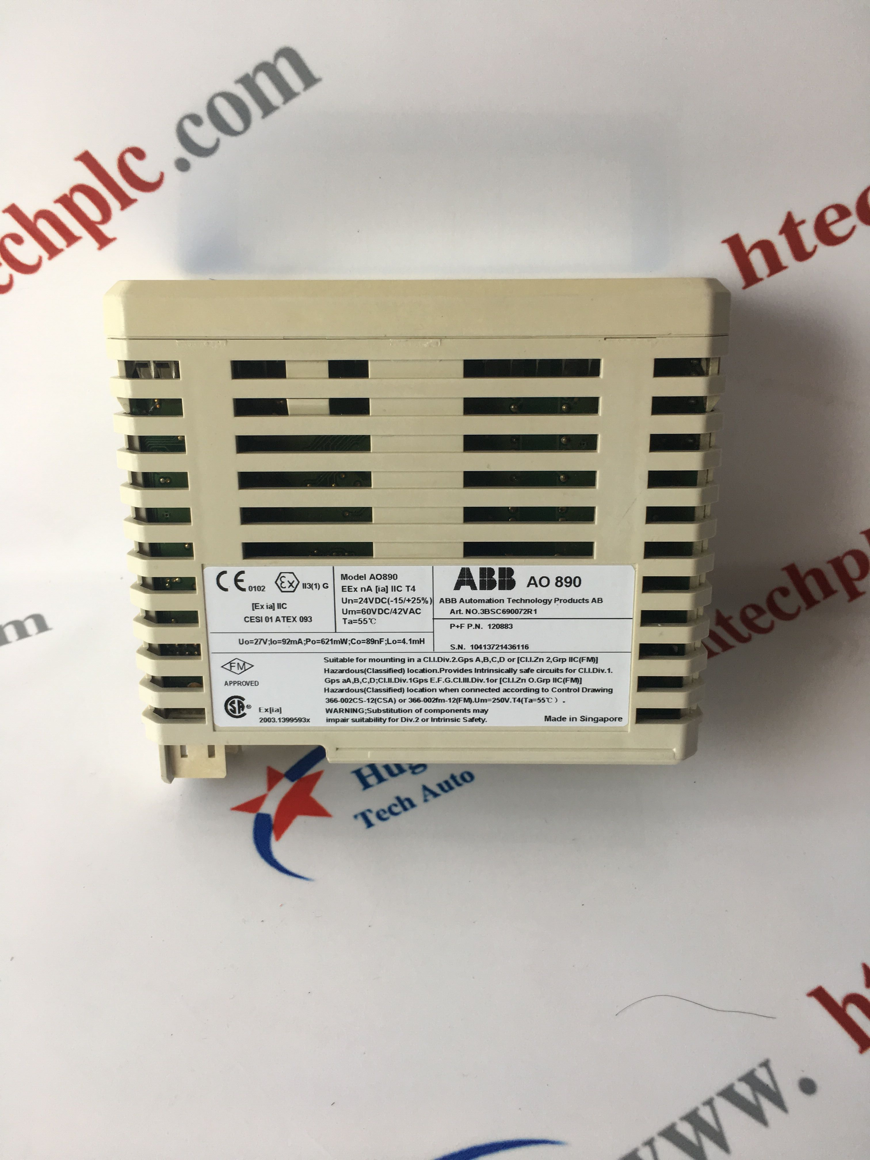 ABB SA811F well and high quality control  well and high quality control