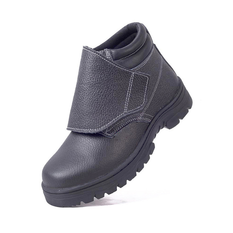 Leather Welding Safety Shoes with Cover