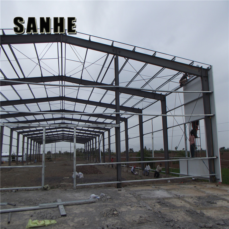 Economic Prefab Modern Steel Structure Warehouse Building Material
