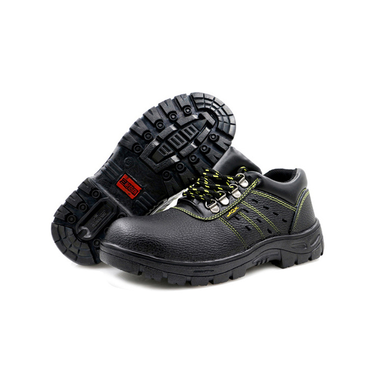 Breathable Slip-resistant Safety Shoes with Steel Toe