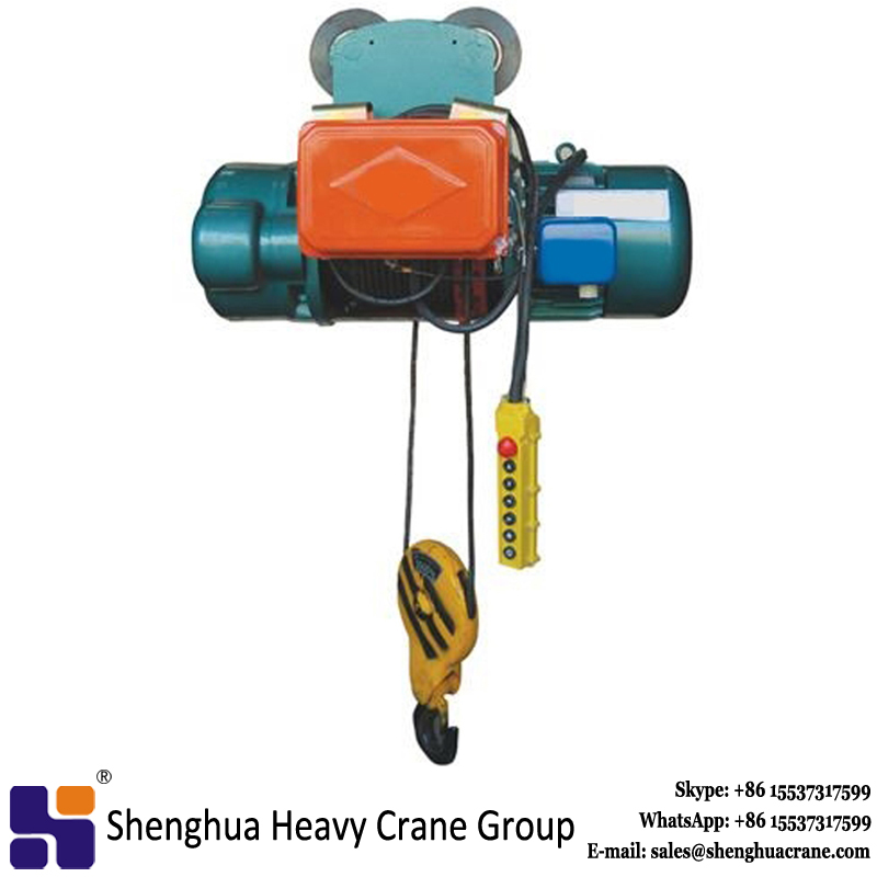 remote control for new design wire rope 15t electric hoist price