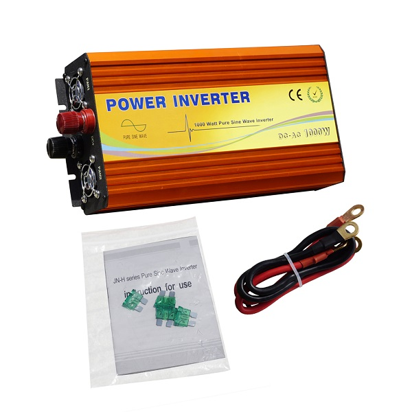 1KW Off Grid Pure Sine Wave Inverter 12V To 110V/220V for RV Car/Boat