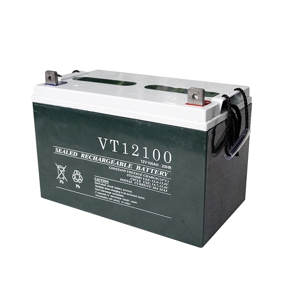 12V 100AH Sealed Lead Acid Solar Power Storage Battery
