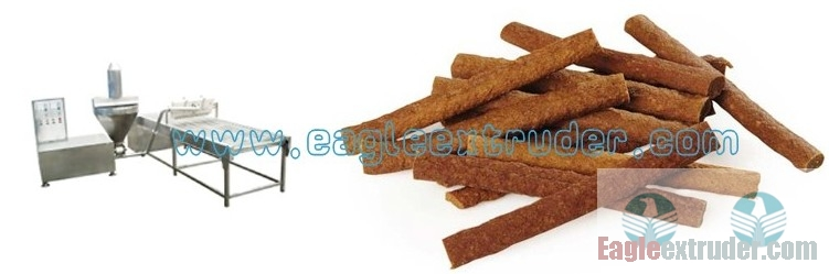 Ltd. Eagle food equipment. Meat jerkey stick forming machine for pet dogs and cats