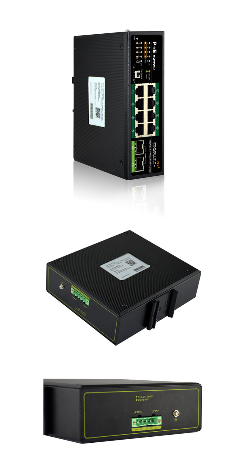 Unmanaged Industrial Switch PM3010GSI