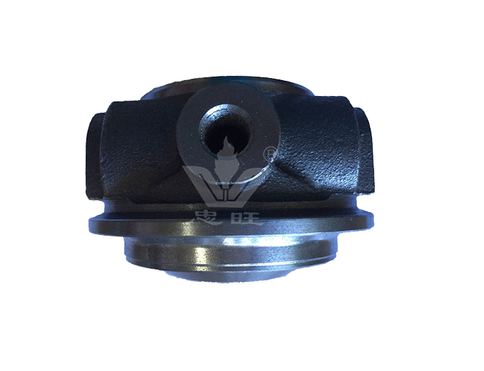 RH5 High performance turbocharger bearing housing with water cooled and oil cooled