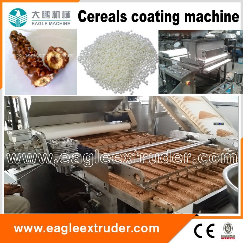 Ltd Eagle food machine Core filled chocolcoate cereals bar machine plant