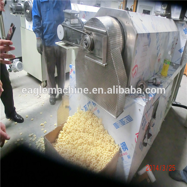 Ltd Eagle food machine automatic corn cheese balls extruder snack food machine processing line