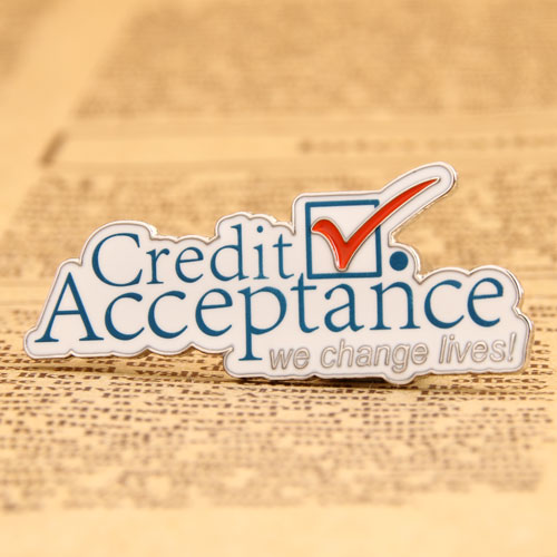 Credit Acceptance Lapel Pins from GS-JJ