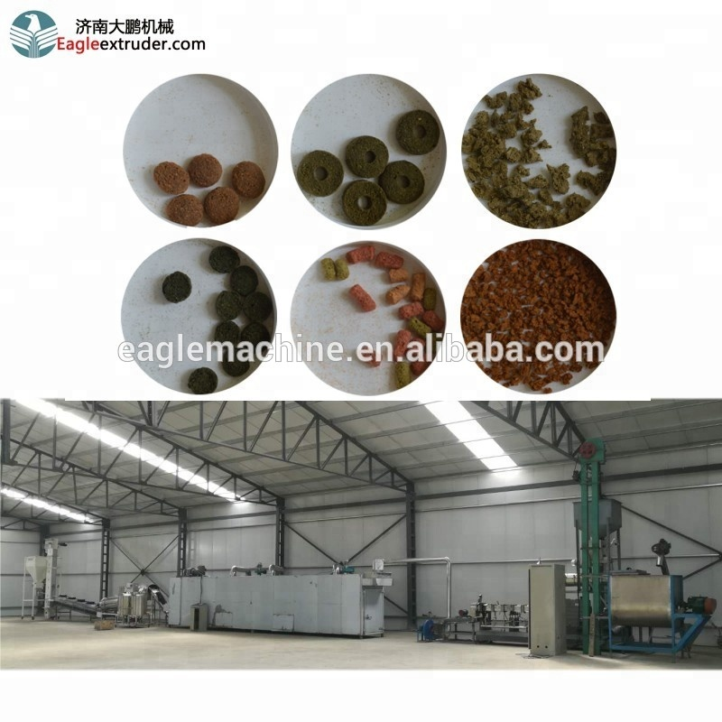 Ltd Eagle food machine equipment for the production of dry food  for animals