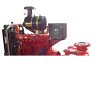 Multistage Type Diesel Fire Pump Set